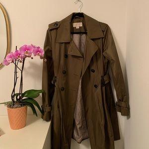 Olive Michael Kors Trench Coat